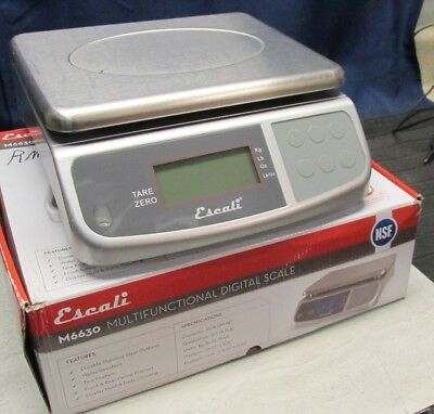Escali M6630 M-Series 66 IB X0.20 Multifunction Scale