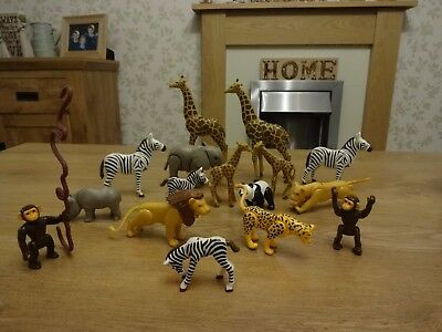 PLAYMOBIL Zoo Animal bundle. Job Lot. 16 animals.