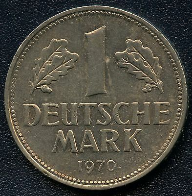 Germany 1970 'J' 1 Mark Coin