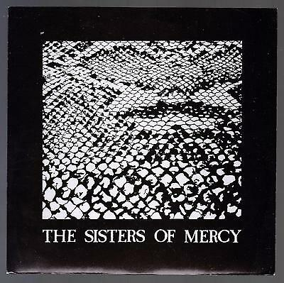 The Sisters Of Mercy Disco 45 Giri Anaconda B/w Phantom Merciful Release Mr 019