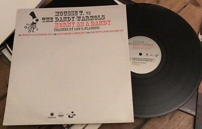 """Mousse T . Vs The Dandy Warhols - Horny As A Dandy .12"""" VG +++"""