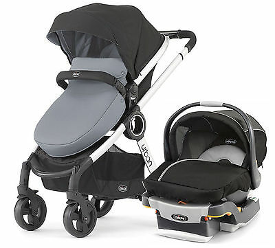 Chicco Urban 6 In 1 Baby Travel System Baby Stroller W Keyfit 30