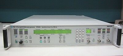 Programmable Pulse Generator Pm5781/021    125Mhz.. Transaction Times 2Ns-100Ms