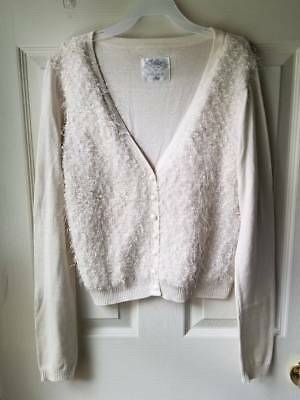 JUSTICE Button Front Cardigan Sweater Girls SIZE 16