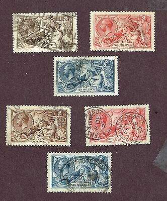 Great Britain F-Vf Seahorses  (Uly25