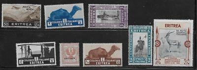 8 Eritrea Stamps from Quality Old Albums