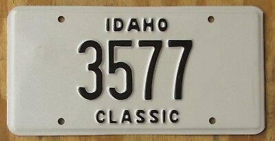 IDAHO HISTORIC VEHICLE - CLASSIC license plate  1995   3577