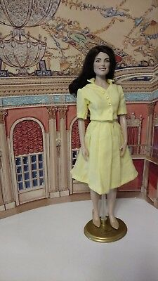 """Yellow Blouse and skirt Kate Middleton/Diana Vinyl 16"""" doll by Alana"""