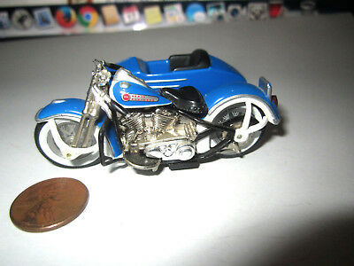 1999 Hot Wheels 1948 Harley Davidson Panhead Motorcycle W/ Side Car