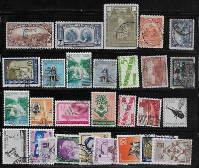 28 Haiti Stamps from Quality Old Albums