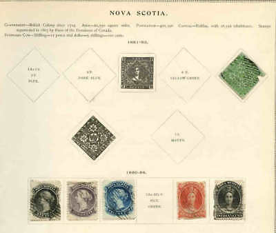 CANADA NOVA SCOTIA COLLECTION LOT $$$$$$$ 99c NO RESERVE