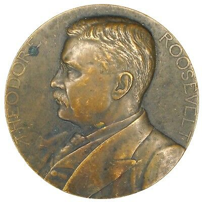 Theodore Roosevelt U. S. Mint Presidential Medal