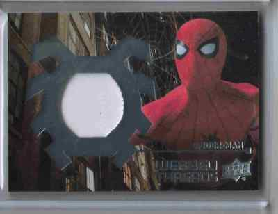 2017 Upper Deck Spider-Man Homecoming Webbed Threads Suit Eyes Card