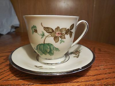 Collectable Cup & Saucer by Kjebenhauns Porcellains Maleri