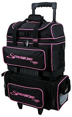 Storm 4 Ball Streamline Bowling Bag Color Black/PInk NEW