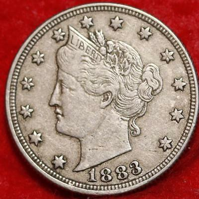 1883 Philadelphia Mint Liberty Nickel Free Shipping