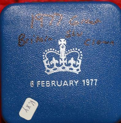 1977 Great Britain Crown Silver Foreign Coin Free S/H