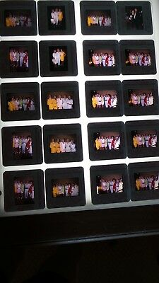 Loni Anderson  W/celebrities Vintage Lot Of 35Mm Slide Transparency Photo #21