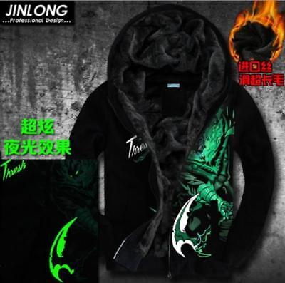 New!League of Legends LOL Team Solo Mid S5 Clan Hoodie cosplay Jacket