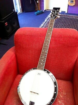Tanglewood TWB 18 M6 6 String banjo.Exc condition Plays great