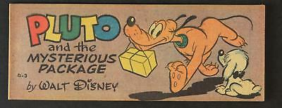19510 Walt Disney Wheaties Give-Away Comic~Pluto And The Mysterious Package