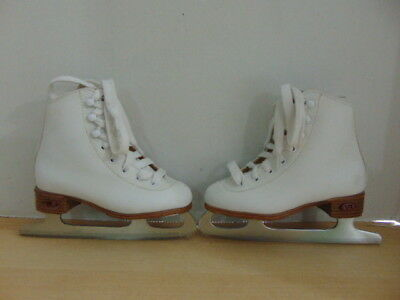 Figure Skates Child Size 11 Riedell Leather Fantastic Quality