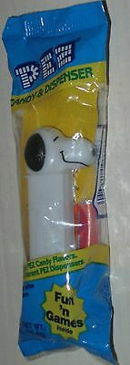 Snoopy Pez Dispenser Sealed
