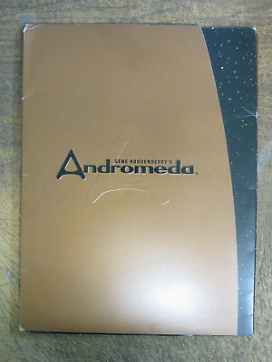Andromeda Season Two Press Kit (2001)w/16 Color Slides Kevin Sorbo Goes To Space