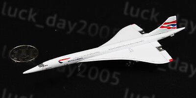 Gemini Jets British Airways Concorde G-BOAC 1:400 Diecast Model