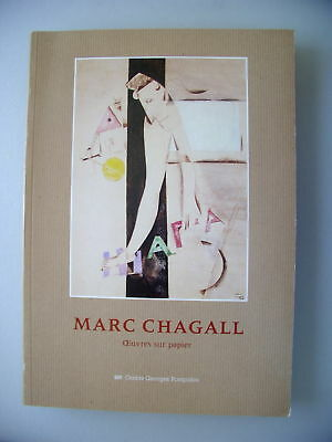 Marc Chagall Oeuvres sur papier 1984
