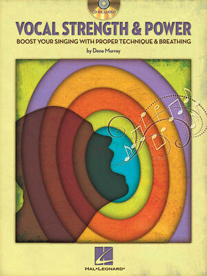 Vocal Strength & Power Singing Technique Lessons Dena Murray Book CD Pack NEW