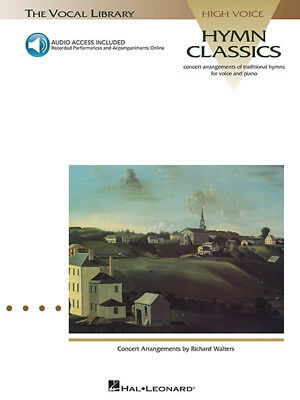 Hymn Classics for High Voice Classical Vocal Piano Sheet Music Book Online Audio