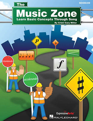The Music Zone Learn Basic Concepts Through Song Teacher Classroom Book CD NEW