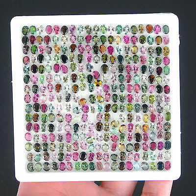 VVS Natural Tourmaline AAA Finest Quality Untreated Gemstones [87.70 Cts/285 Pc]