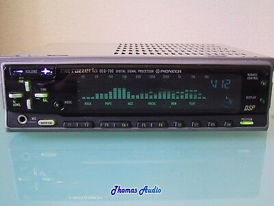 From Japan: Pioneer DSP Equalizer DEQ-700 (Latest model of DEQ-9200) Graphic EQ