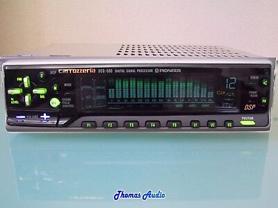 From Japan: Pioneer DSP Equalizer DEQ-500  (DEQ-7600) EQ Perfect condition