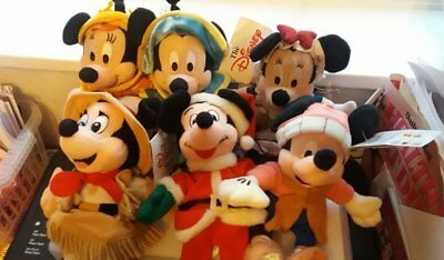 Disney collectables Mickey and Minne Mouse Bundle x 6