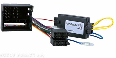 OPEL Astra H JVC Radio Adapter MOST CAN-Bus Lenkrad Fernbedienung Interface