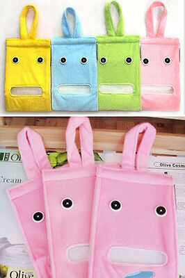 1Pc Newest Cloth Toilet Paper Container Portable Hanging Tissue Holder Box Bags