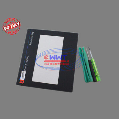 FREE SHIP for AB PanelView 550 2711-T5A1L1 Protective Film Cover + Tools SJLU367