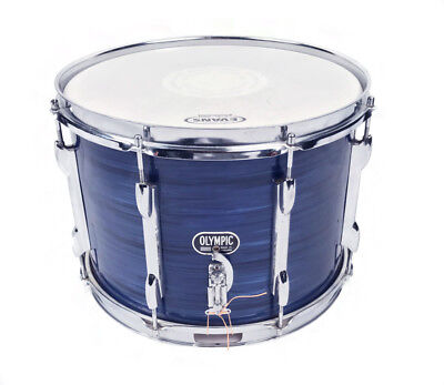 Premier 1960s Olympic 14 x 10 Snare Drum in Blue Onyx (PRE-OWNED)