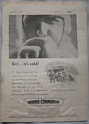 1945 Morris Commercial Vehicles Original advert No.1