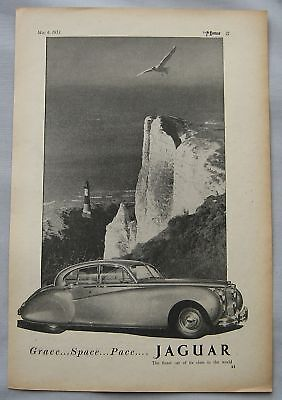 1953 Jaguar Original advert No.2