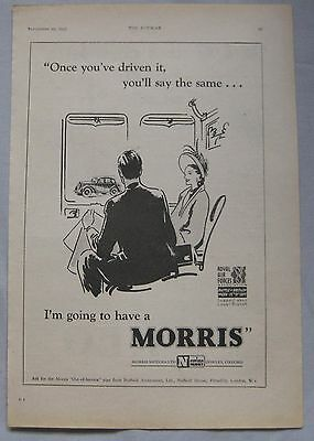 1947 Morris Original advert No.3