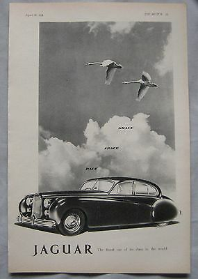 1953 Jaguar Original advert No.4