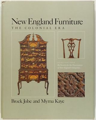 Antique New England Colonial Furniture -SPNEA Collection -Important Book