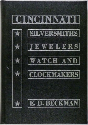 Cincinnati Ohio Silver, Silversmiths, Hallmarks, Watchmakers & Clockmakers
