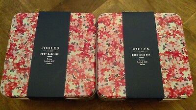 Joules BNIB 2x Body Care GIFT SETS NEW, Unopened - IDEAL FOR CHRISTMAS