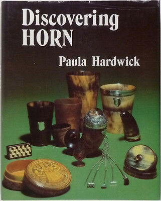 Antique Horn Antiques & Hornwork, English & European - Good Reference Book