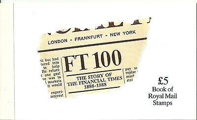 Gb 1988 Prestige Booklet Dx 9 The Financial Times